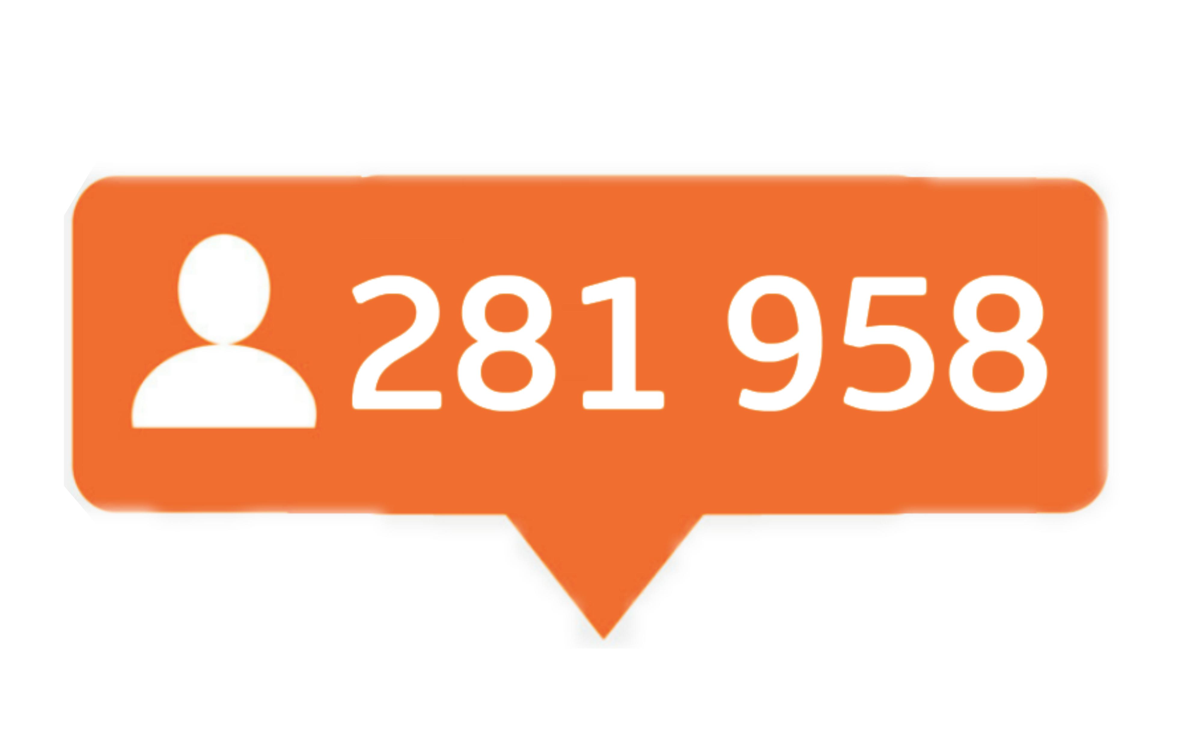 281 958 følgere på Instagram