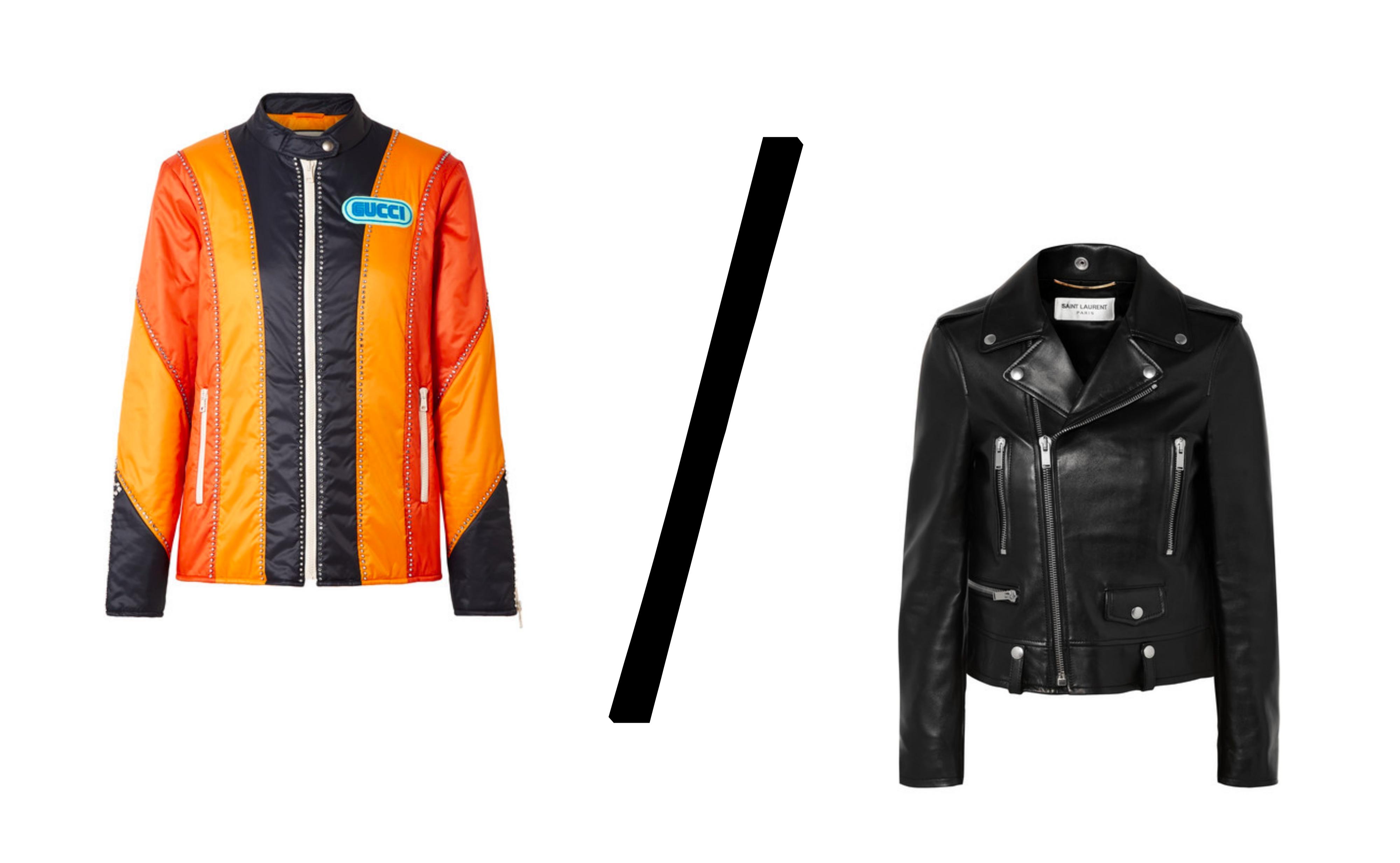 gucci-saint-laurent-leather-jacket-skinnjakke