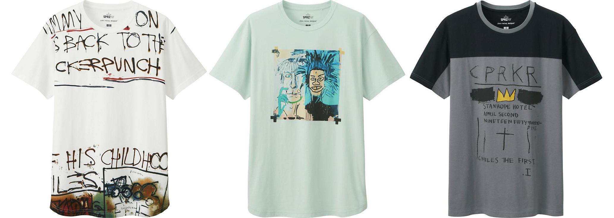 Uniqlo x Jean-Michel Basquiat