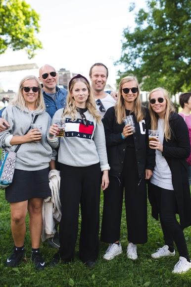 Julie, Lars Fredrik, Ingrid, Cristopher, Ida og June