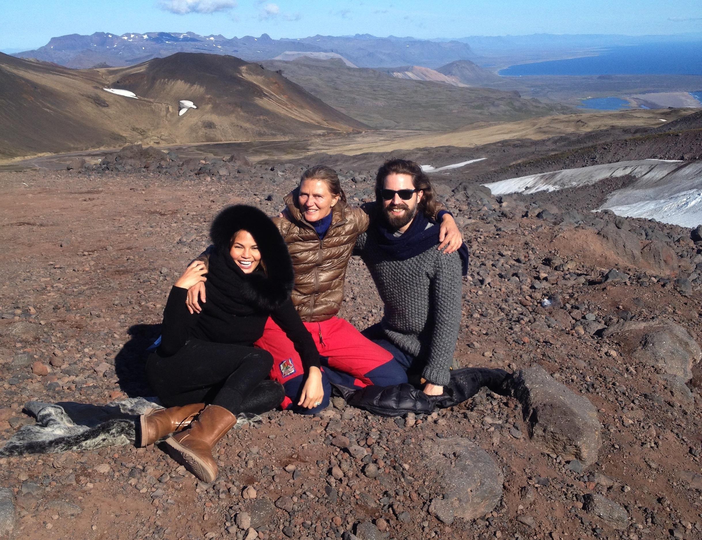 CathrineWessel_JackGuiness_ChrissyTeigan_UggsAustraliaWinter2015_Iceland