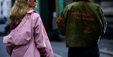 Oslo trykkeri med solidaritets t skjorter Melk & Honning