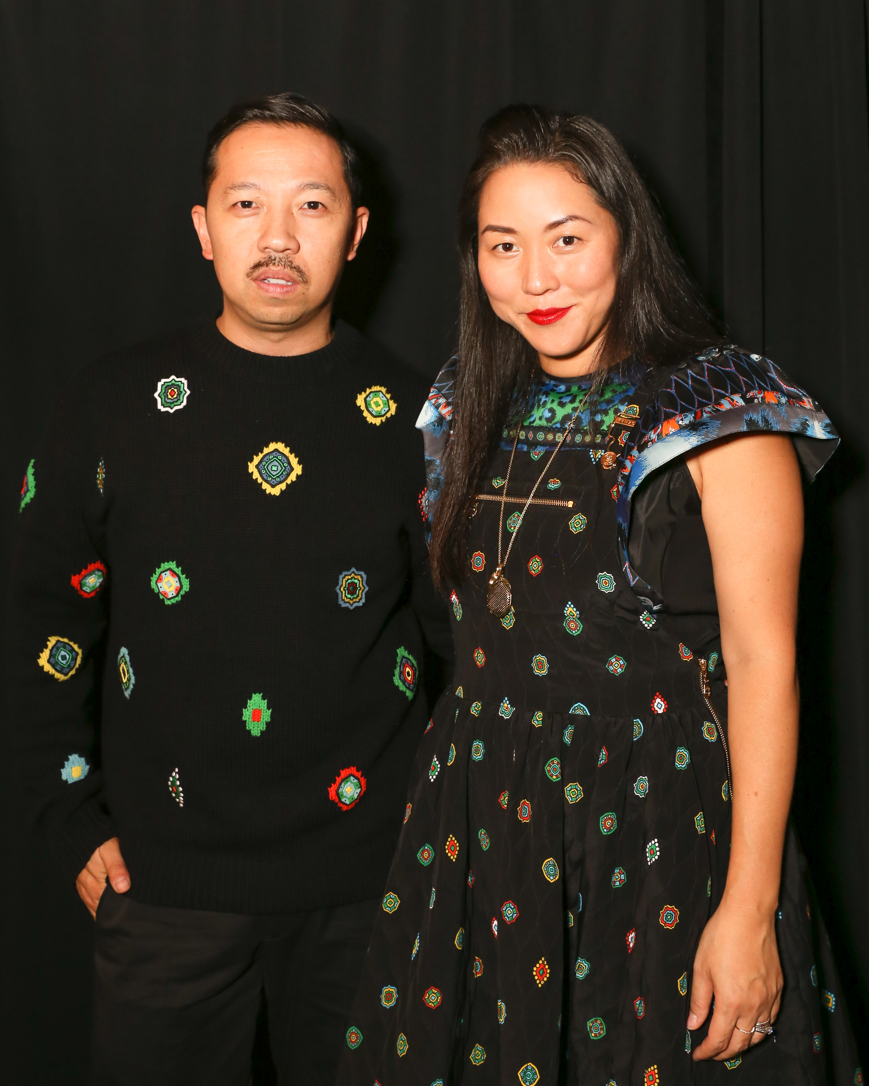 KENZO x H&M launch event : directed by Jean-Paul Goude -BACKSTAGE