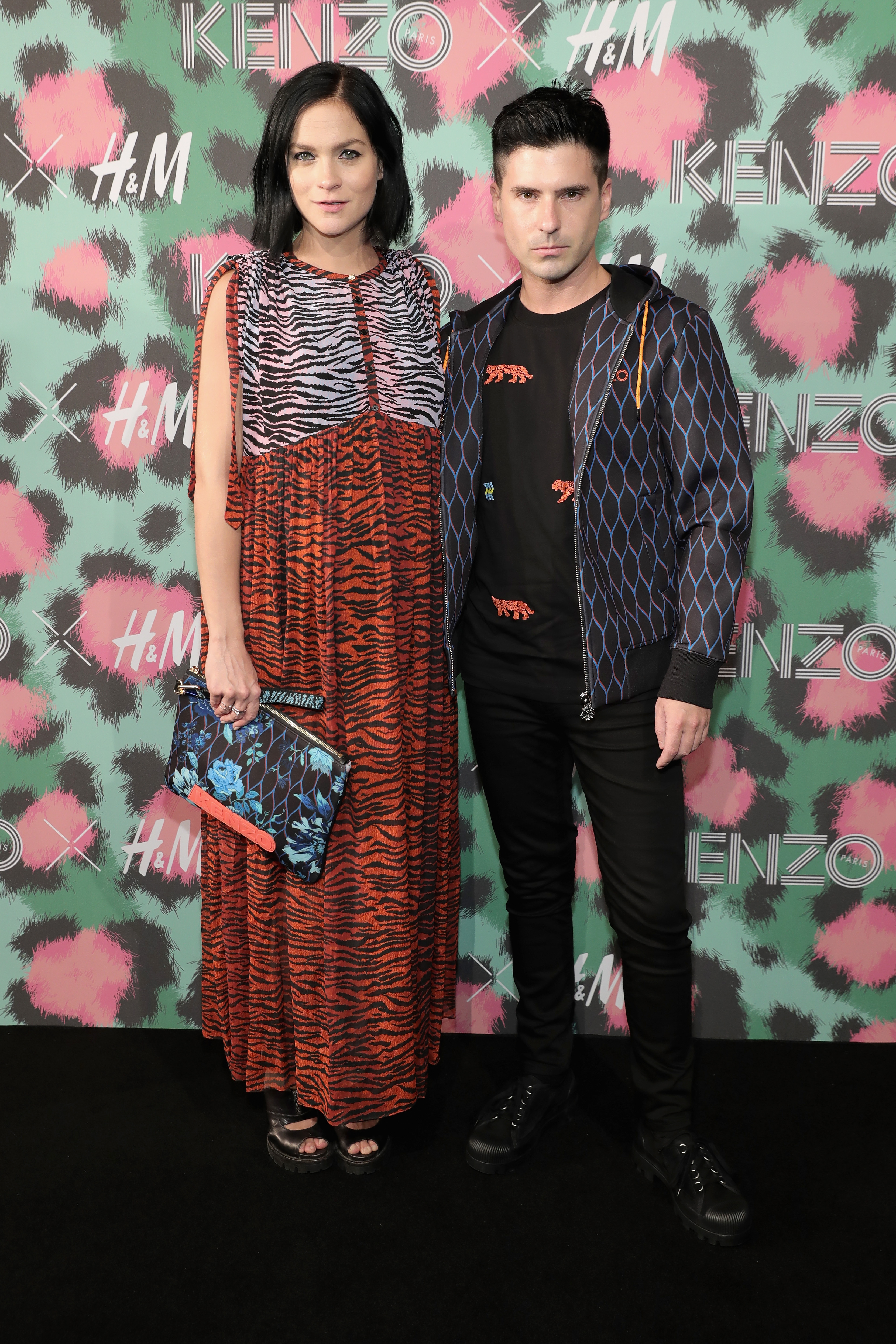KENZO x H&M Launch Event Directed By Jean-Paul Goude' - Arrivals