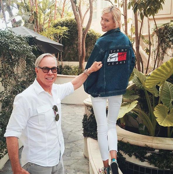 Tommy Hilfiger er for å se fine folk i sine klær (INSTAGRAM)
