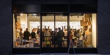 Bilde fra et event hos Story i New York
