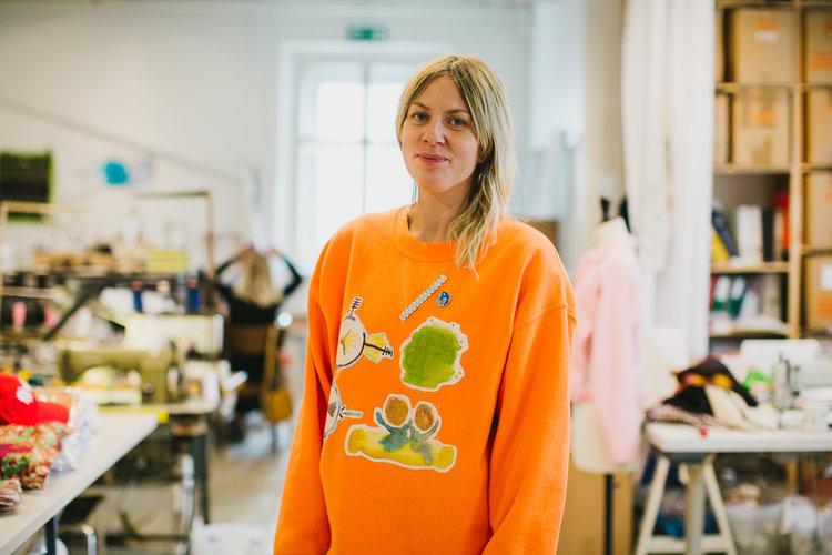 Bilde av haikw/-designeren Ida Falck Øien