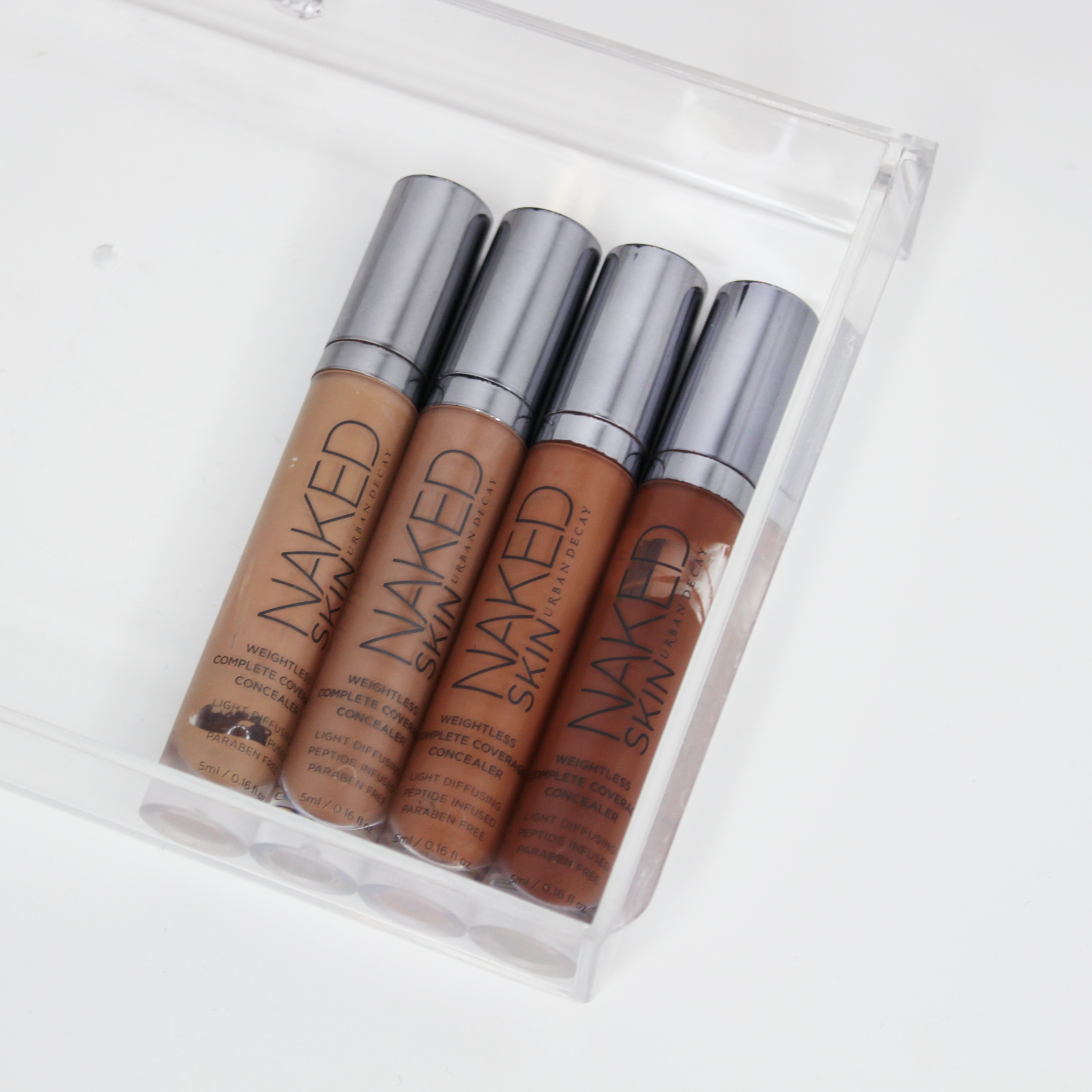 Urban Decay Concealer i fire ulike nyanser