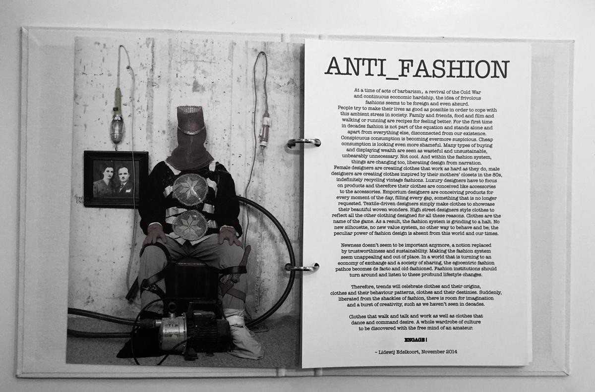 Bide fra Lid Edelkoort sitt anti-fashion manifest