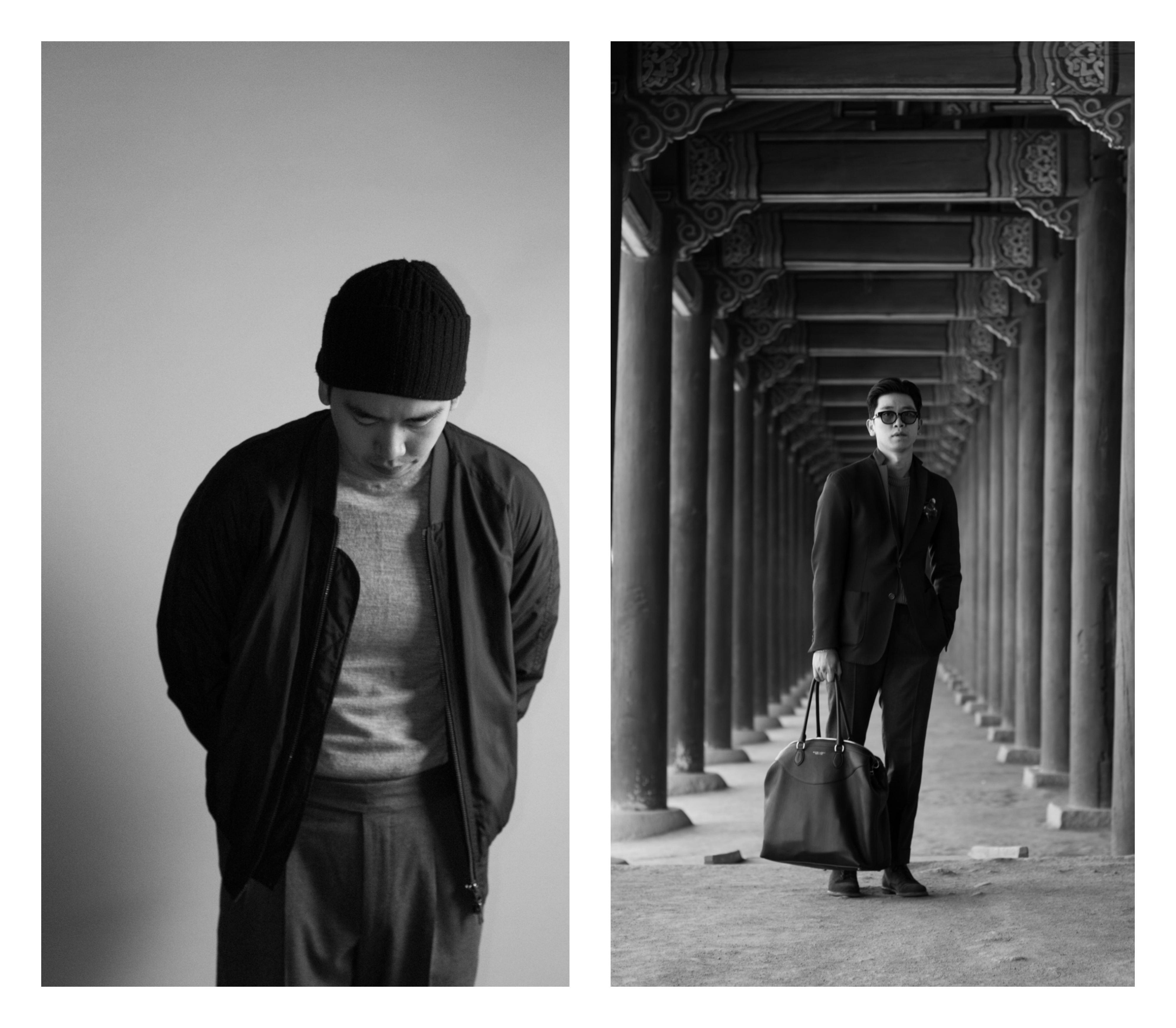 Bilde av to av Quy sine antrekk