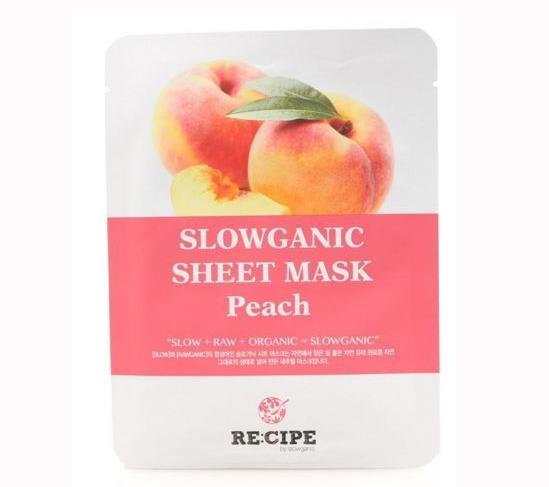Bilde av Peach Slowganic Sheet Mask