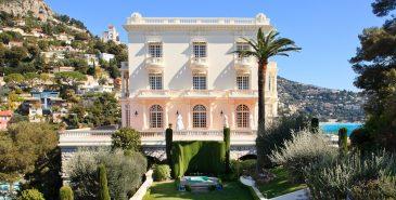 Villaen La Vigie i Monaco