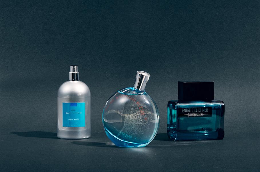 Tre av sommerens parfymer