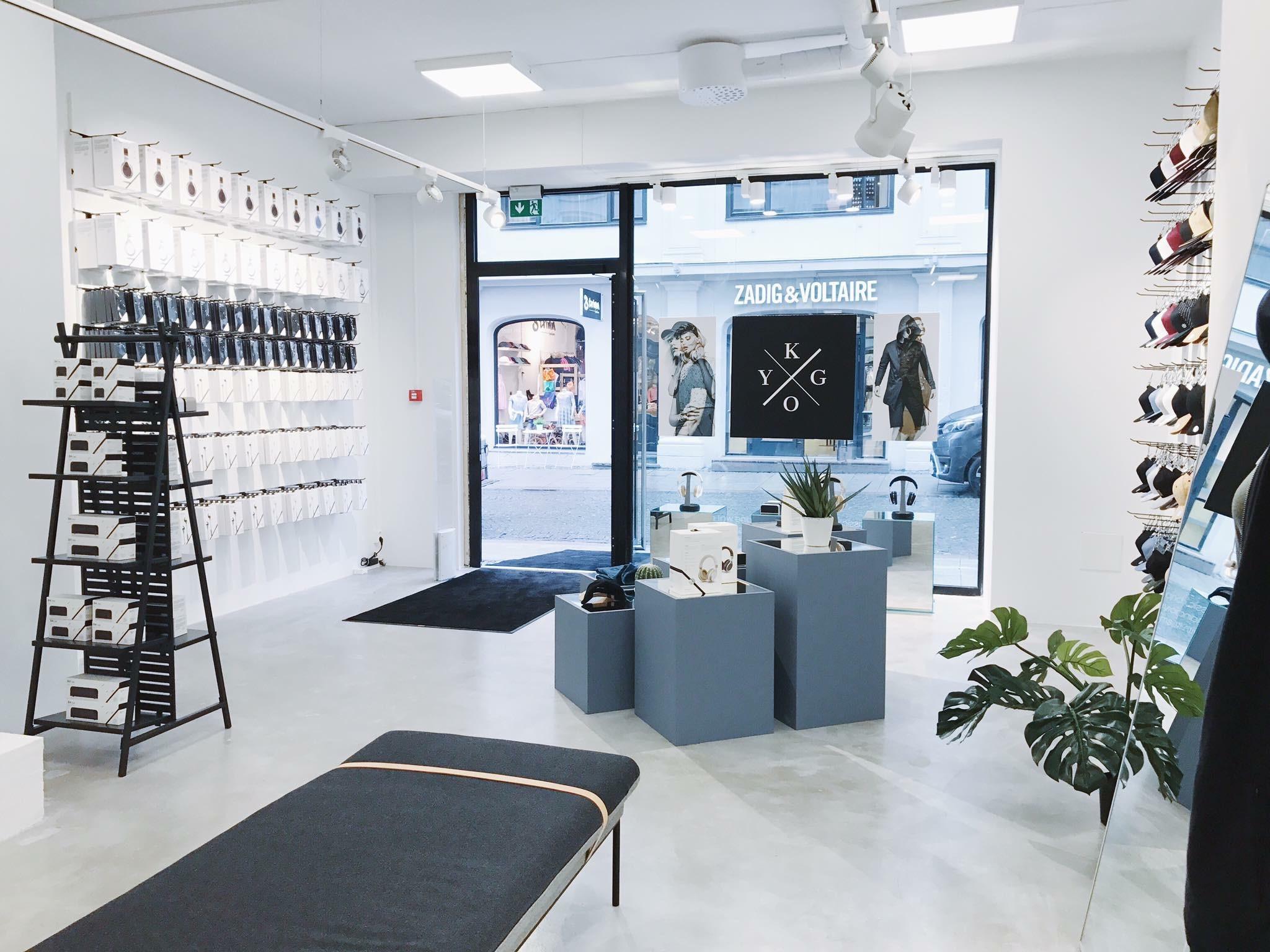 Kygo har åpnet pop up butikk i Oslo Melk & Honning