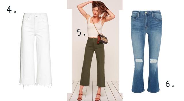 M&Hs toppliste: Cropped jeans Melk & Honning