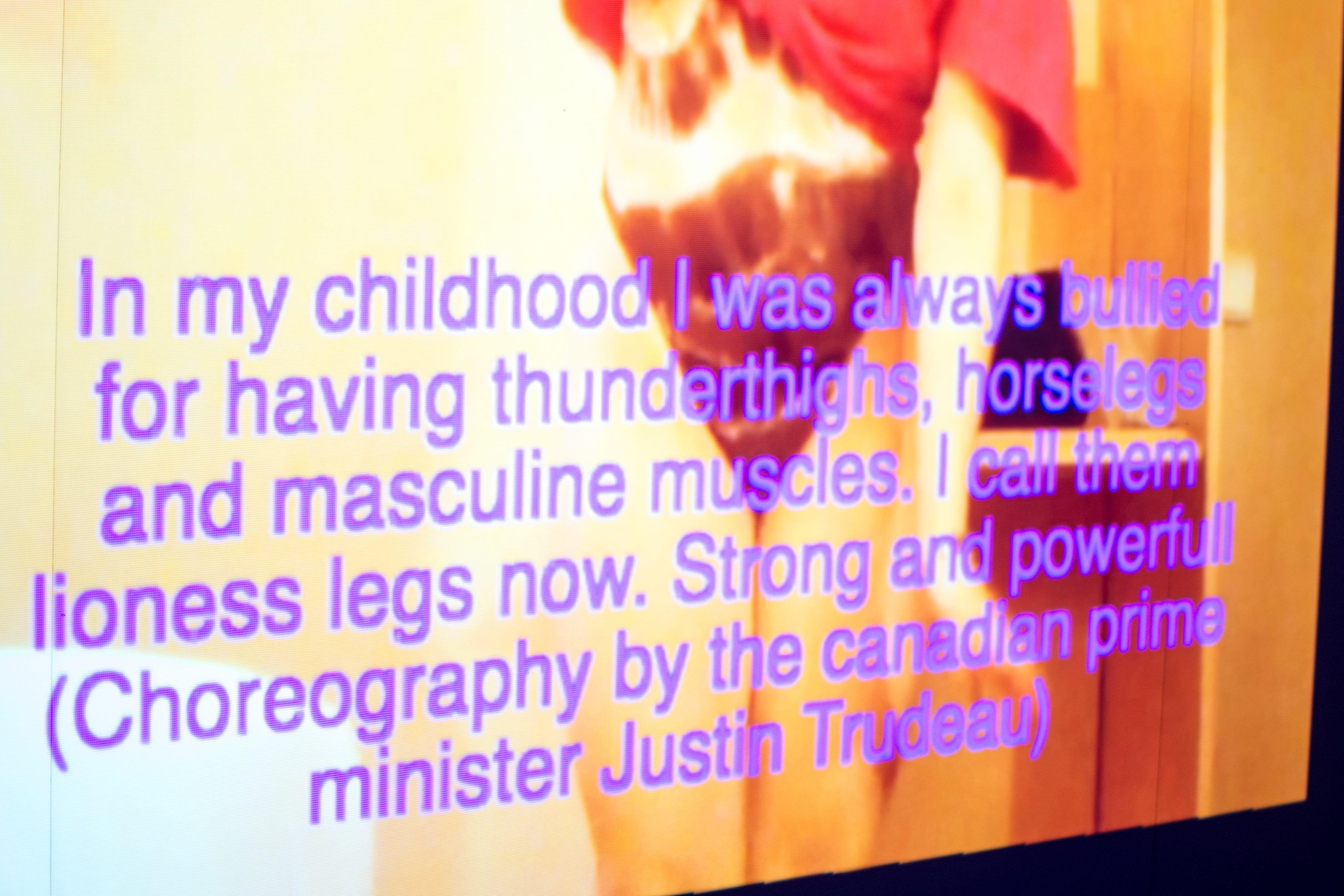 Tekst på en video