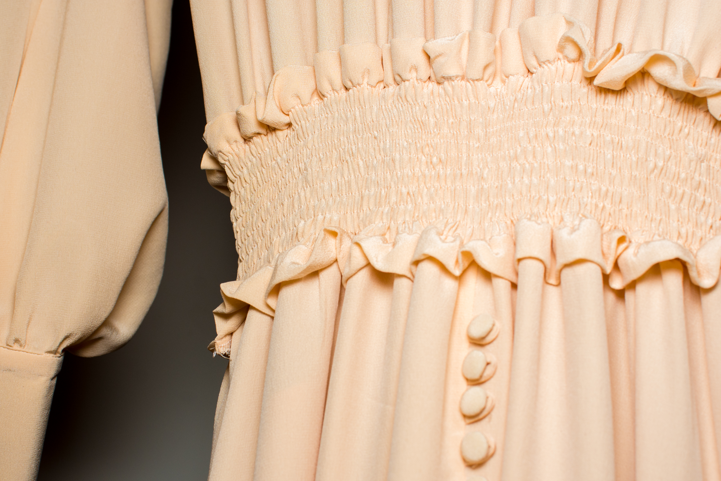Detaljbilde kjole