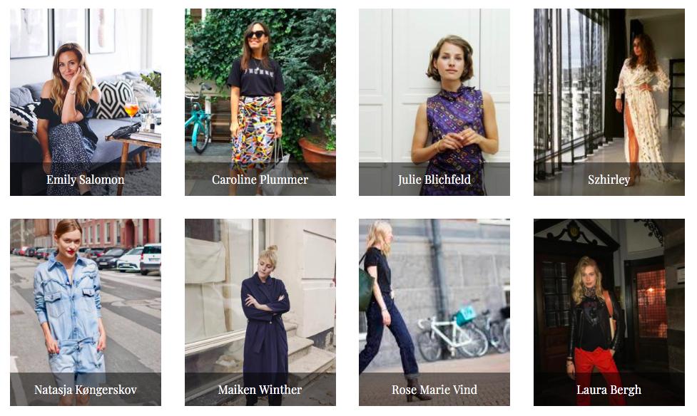ae333c6c På 2nd Edit har du mulighet til å kjøpe brukte klær fra kjente  skandinaviske influencere. Foto: Skjermdump