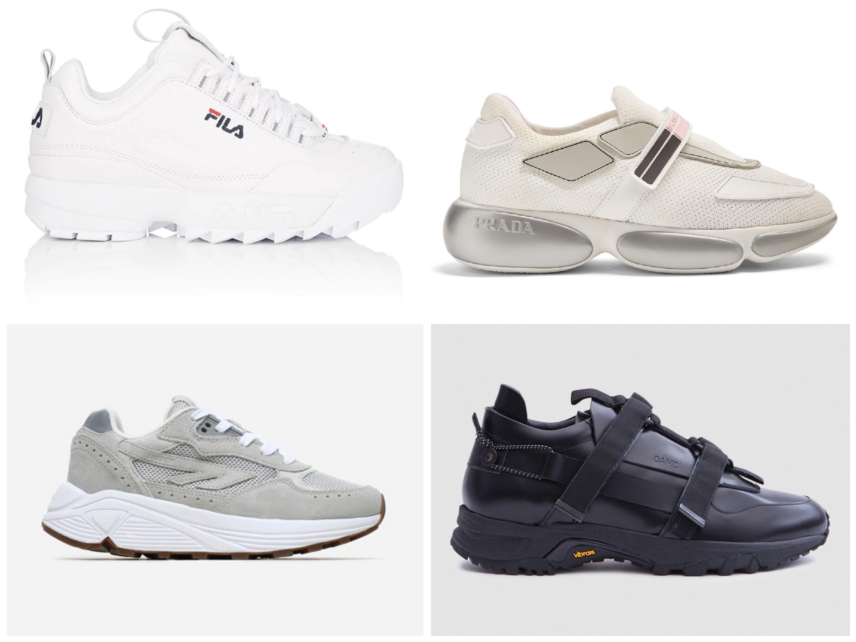 M&Hs toppliste: Klumpete sneakers Melk & Honning