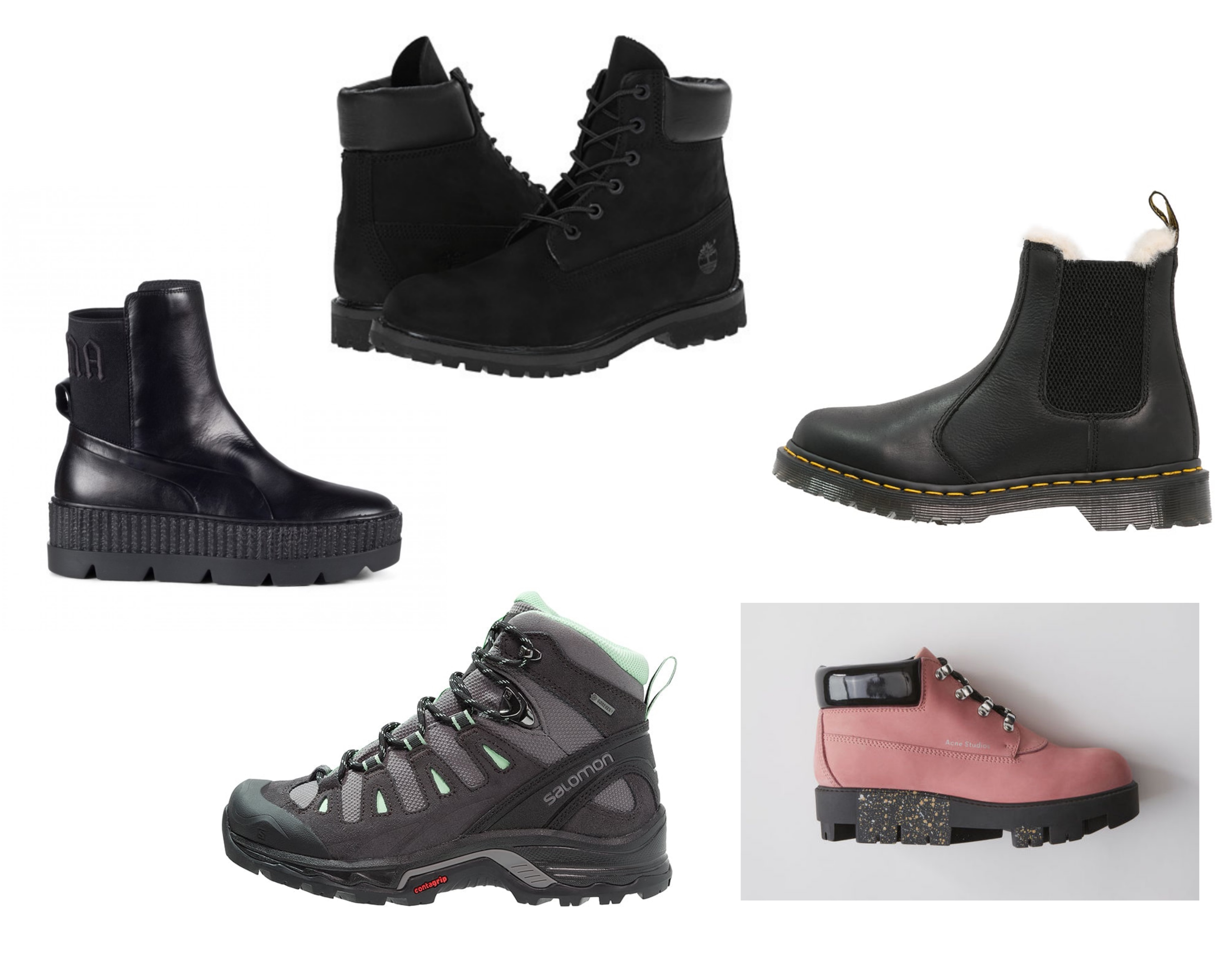 6d9c195a ... Ceremony (2251,-) Moon Boots fra via Net-a-porter (ca 1100,-) Sko med  leopard-mønster fra Diemme via Yme (3999,-) Rosa Nike Duckboots via Urban  (1799,-)