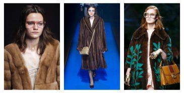 Gucci med latekshoder under Paris Fashion Week