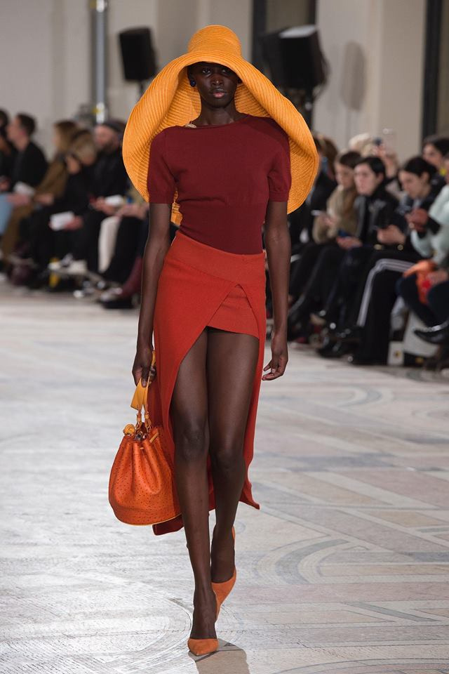 Jacquemus sin FW18-visning under moteuken i Paris.
