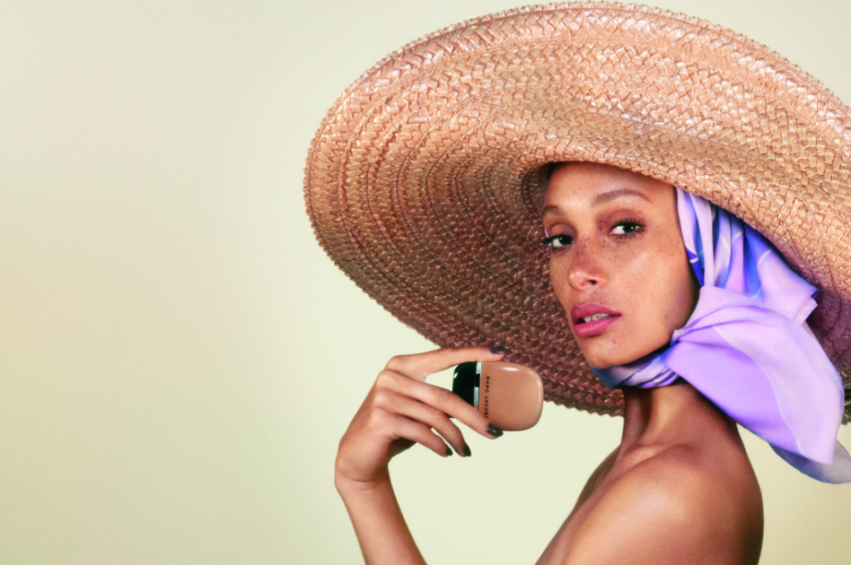 Adwoa Aboah for Marc Jacobs Beauty