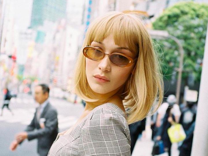 Bella Hadid som Rebekka Harajuku