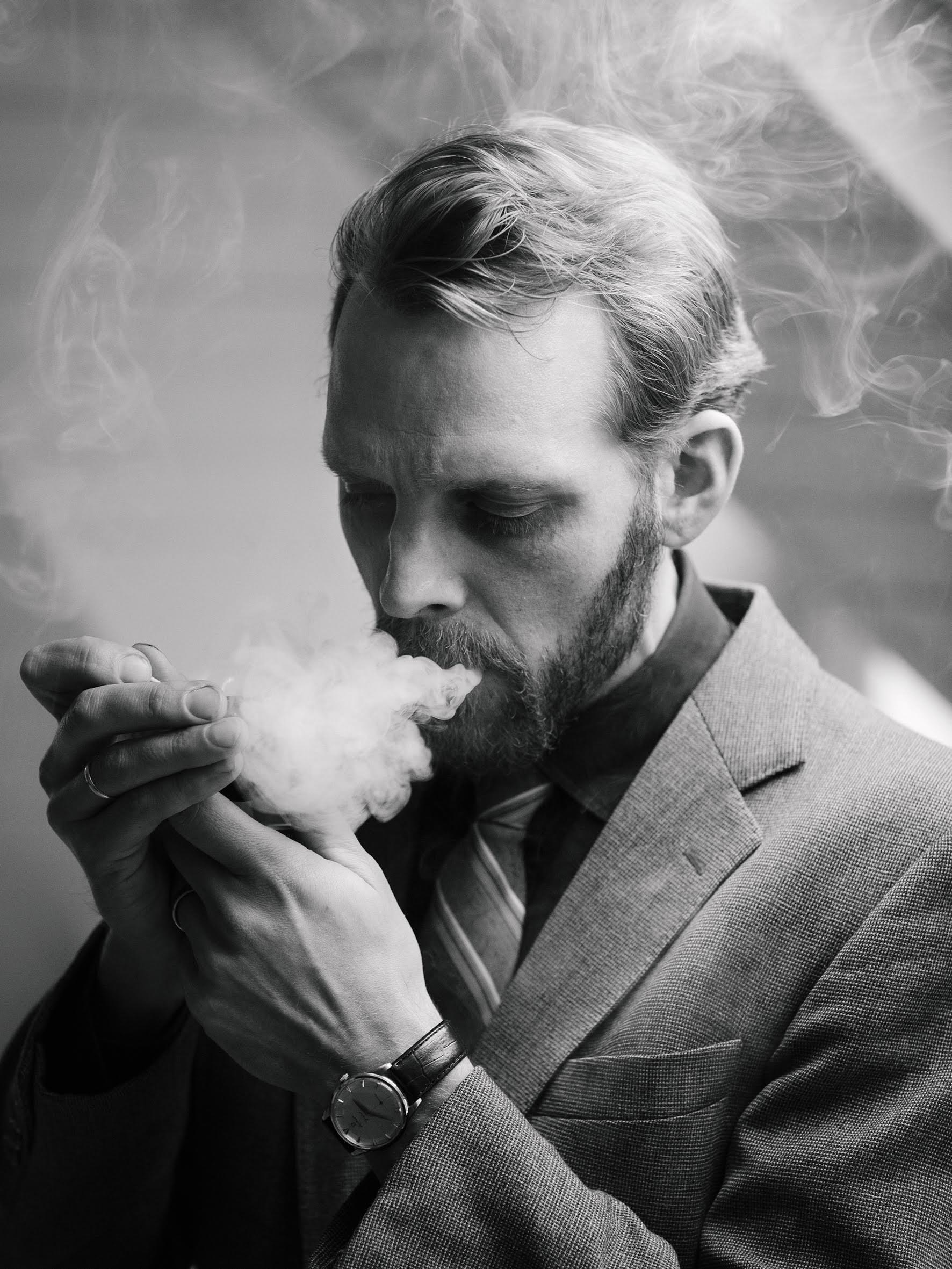 Parfymeskribent i D2, Bjørn Brochmann. Foto: Thomas Ekström