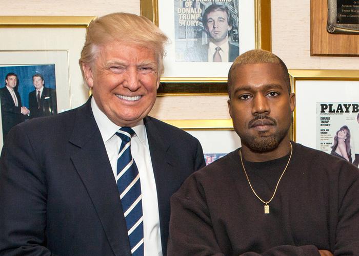 Kanye West støtter Donald Trump