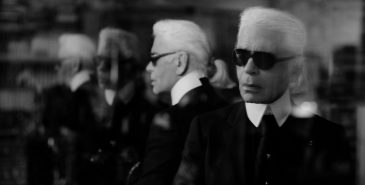 Karl Lagerfeld. Foto fra The Guardian