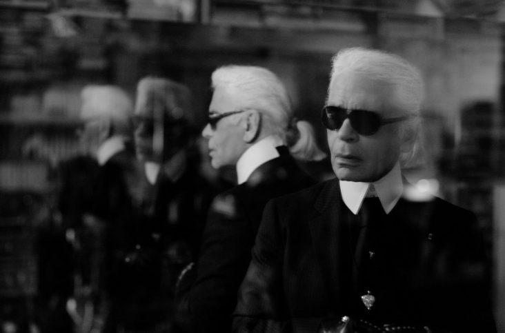 Karl Lagerfeld. Foto fra The Guardian