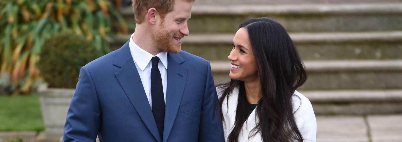 Meghan Markle og prins Harry. Foto Royal.uk