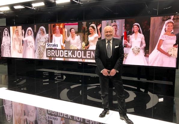 Kjell Arne Totland kommenterer Meghan Markles brudekjole
