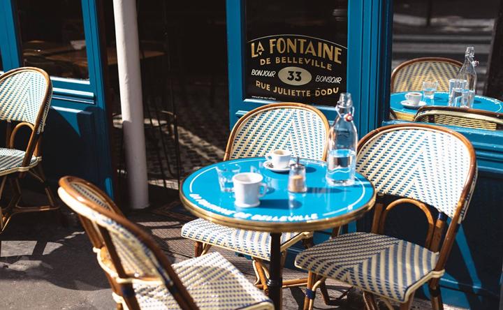 La Fontaine de Belleville i Paris