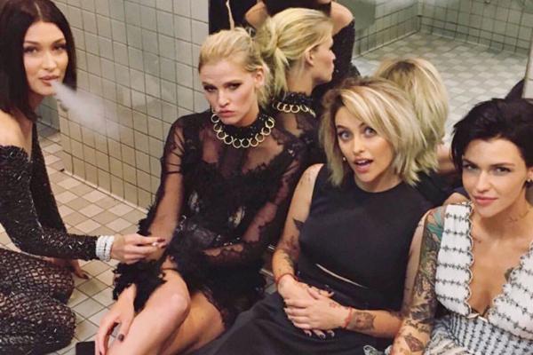 Selfie fra Met Gala 2017