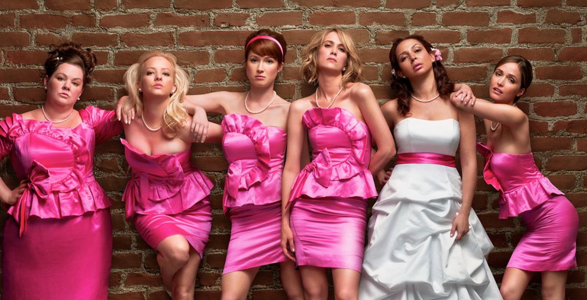 Bilde fra filmen Bridesmaids