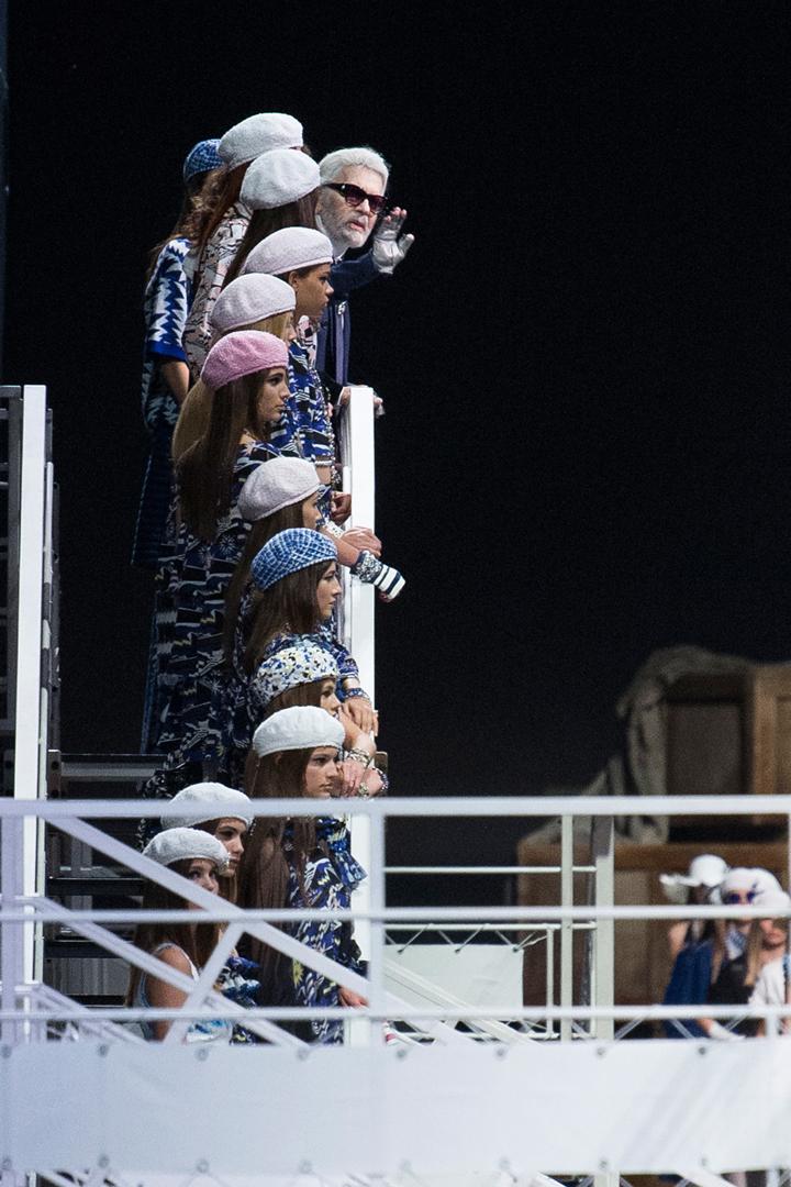 Chanel viste sin Cruise-kolleksjon i Grand Palais i Paris
