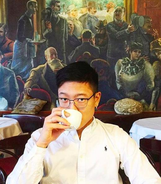 Redaktør for Subjekt, Danby Choi. Foto via Instagram @DanbyChoi