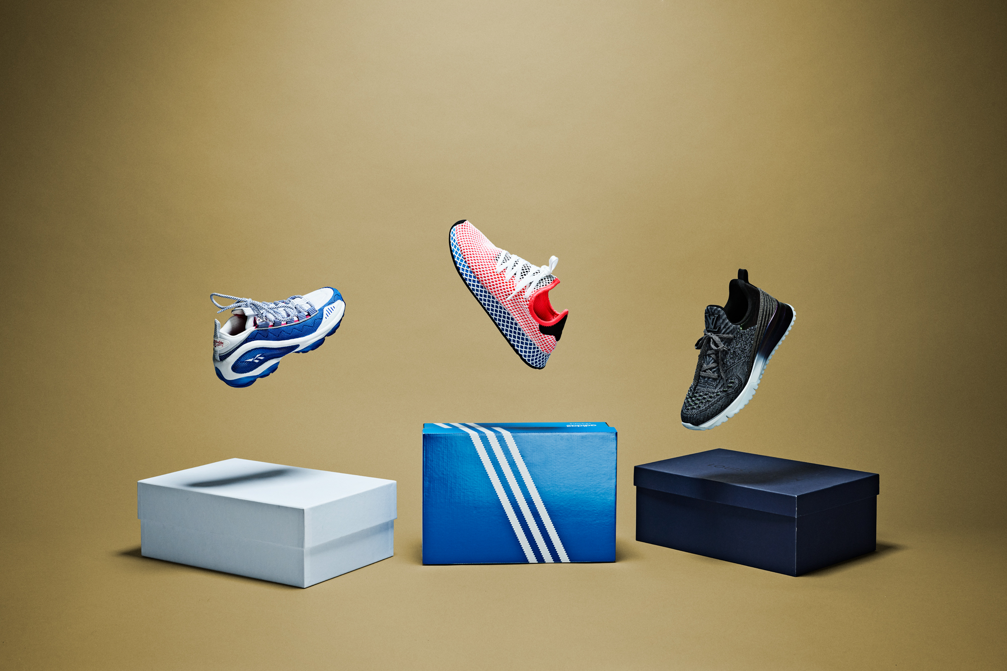 Reebook-DMX-Run-10-Adidas-Deerupt-Runner-Louis-Vuitton-V.N.R-Sneaker-Oslo