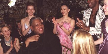 André Leon Talley. Fotografert av Bill Cunningham for New York Times