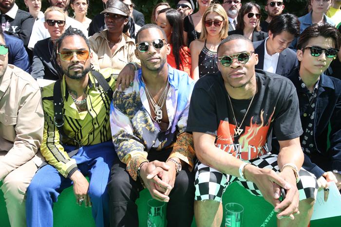 Miguel, Victor Cruz og Russel Westbrook