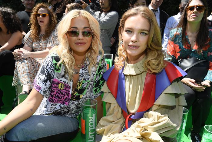 Rita Ora og Natalia Vodianova