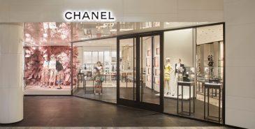 Chanel-butikk. bilde fra wwd