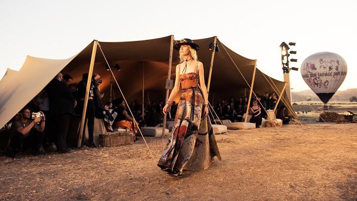 Americana er blant årets store Resort-trender. Her hos Dior