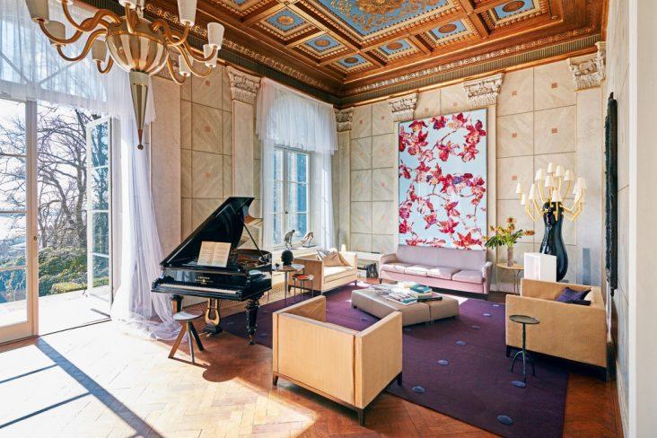 Karl Lagerfeld tidligere villa i tyskland