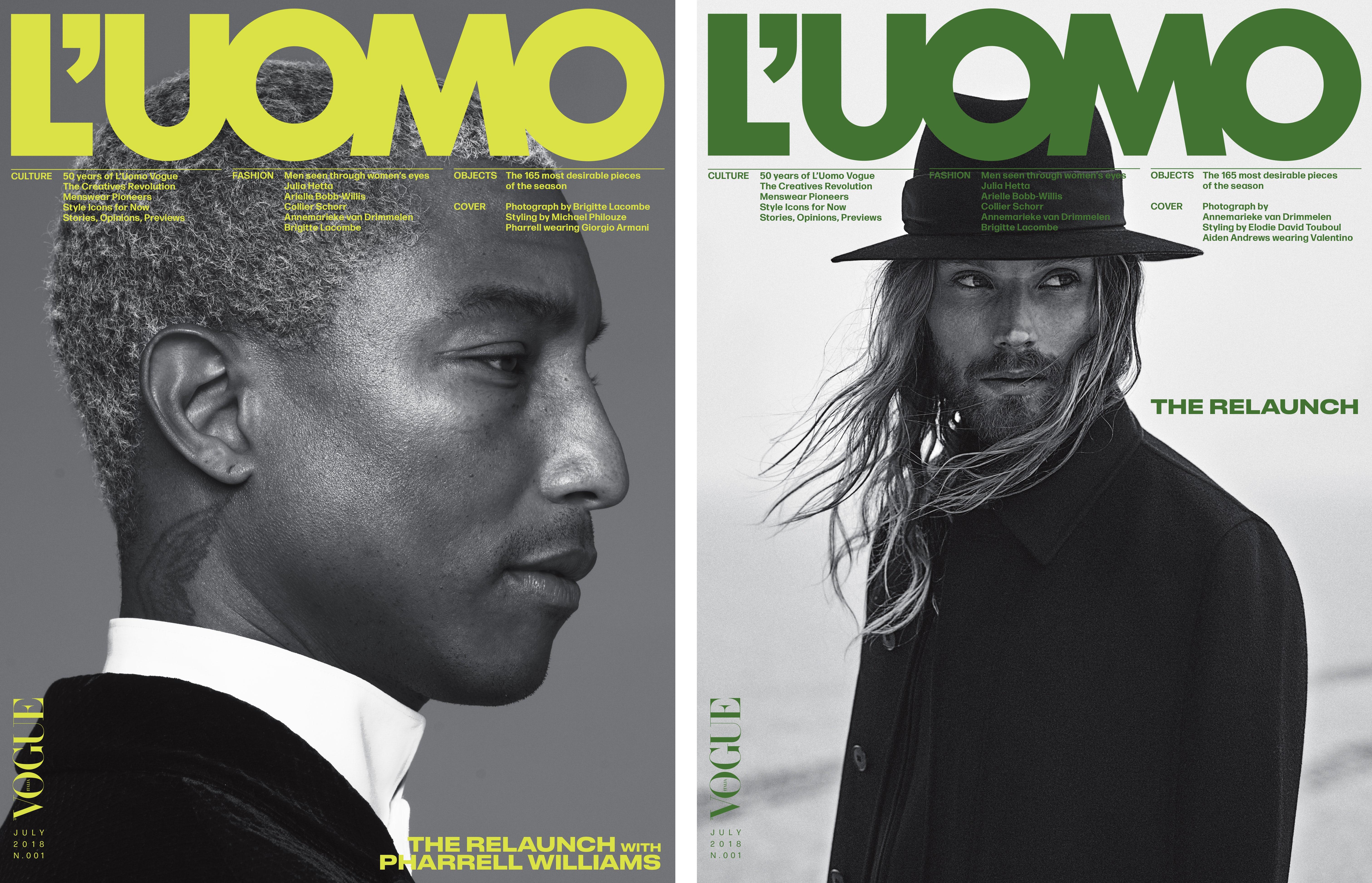 Vogue L'Uomo relanseres