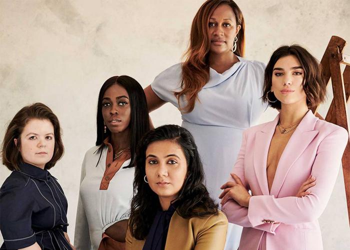 Vogues liste over Storbritannias mest talentfulle kvinner