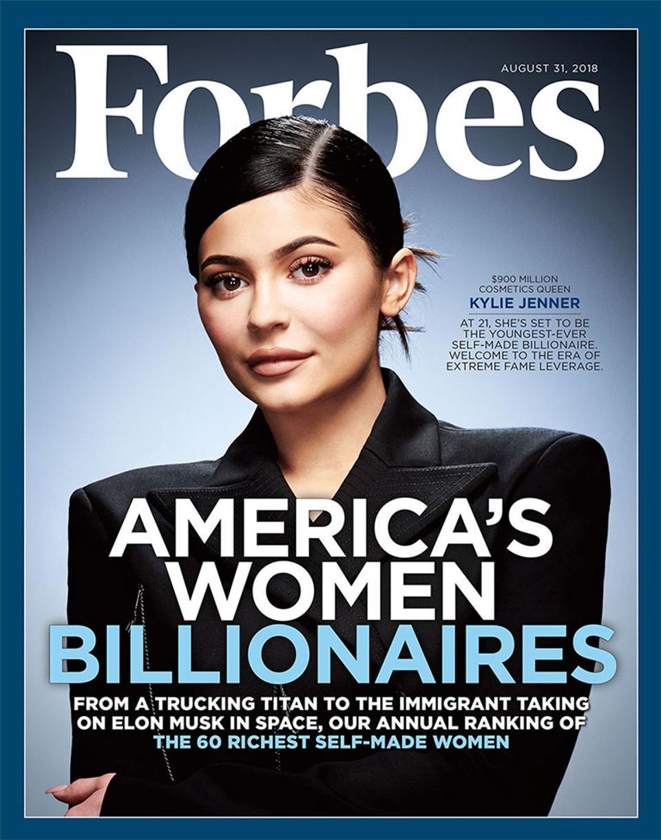Kylie Jenner i Forbes