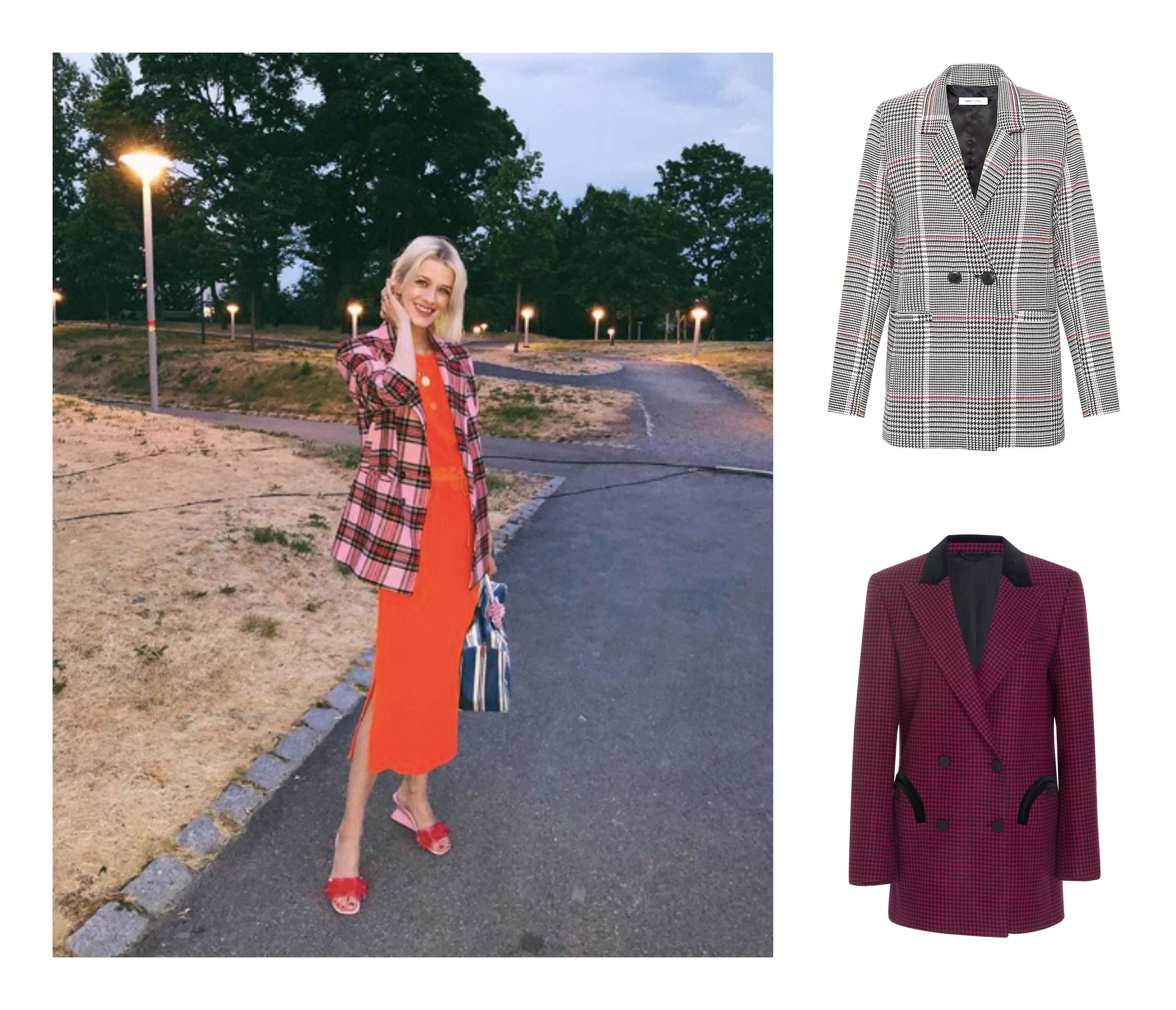 Ulike trendy blazere som er perfekt for tidlig høsten